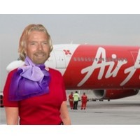Richard Branson to pose as female flight attendant on Air Asia flight