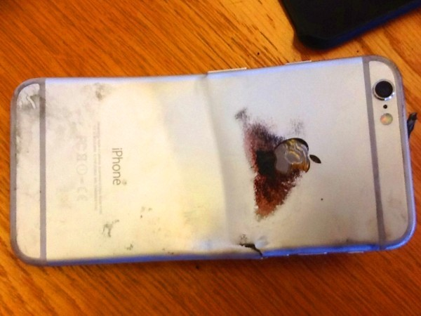 Apple's 'bendgate' scandal smoulders on: Man claims leg was burned after iPhone 6 bends and catches fire in his pocket