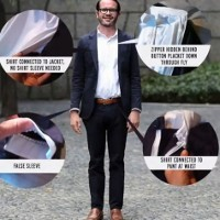 The Lighter Side: The new must-have fashion item for the sartorial entrepreneur – the 'suitsy'