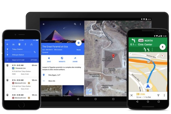 Google's Material rollout continues with new Google Maps app, including Uber integration