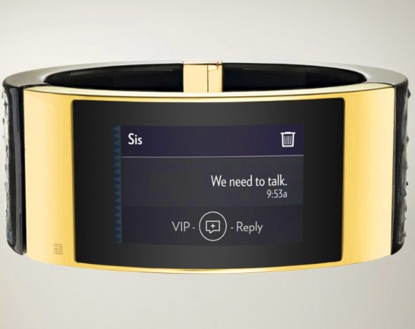 Intel joins US jewellery and fashion brand in creating new smart bracelet for female executives