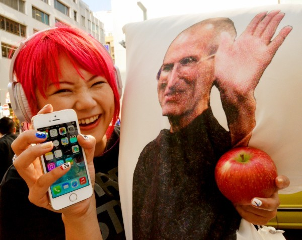Apple reports the biggest quarterly profit of any listed company in history: $22.6 billion