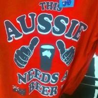 Australia Day Big W top