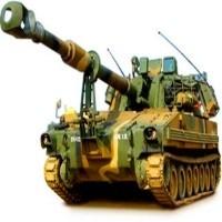 A Samsung Techwin tank