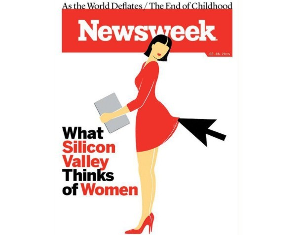 Sexism and Silicon Valley: What do you think of this magazine cover?