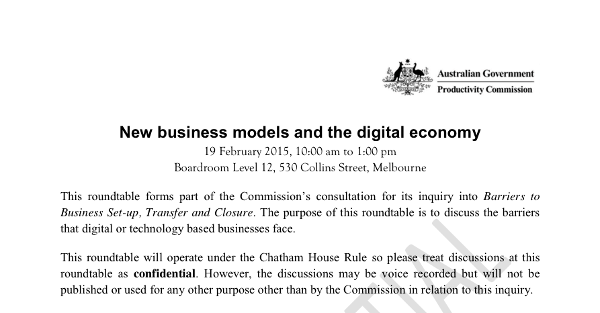 Productivity Commission investigates whether regulation is forcing SMEs out of Australia