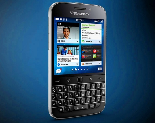 BlackBerry Classic hands-on review: Gadget Watch