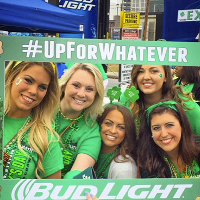 Bud Light faces sexual harassment claims over #UpForWhatever St Patrick's Day social media campaign