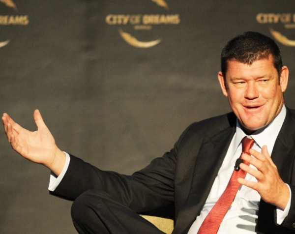 """James Packer sucked into trademark dispute over """"Crown Resorts"""" name"""