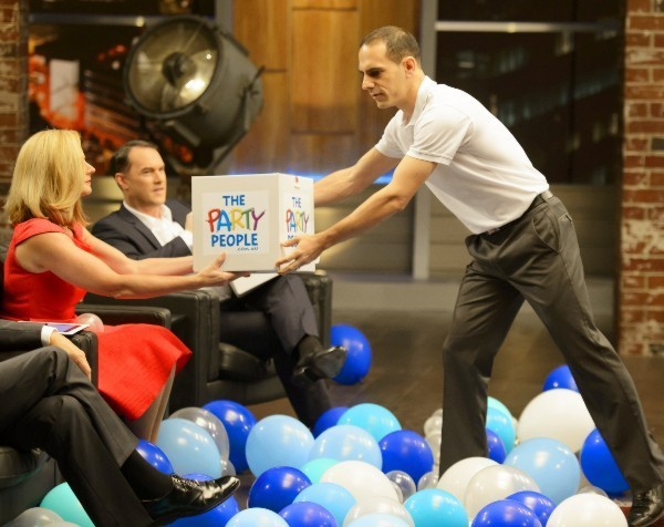 Shark Tank: why Dean Salakas decided not to give up half of his company, The Party People
