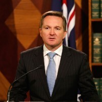 Shadow treasurer Chris Bowen sides with big business on effects test