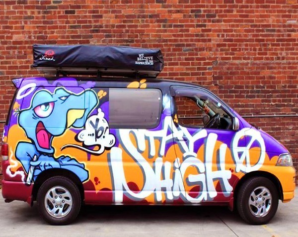 Wicked Pickets protest group takes to the streets to call for an end to Wicked Campers' offensive slogans