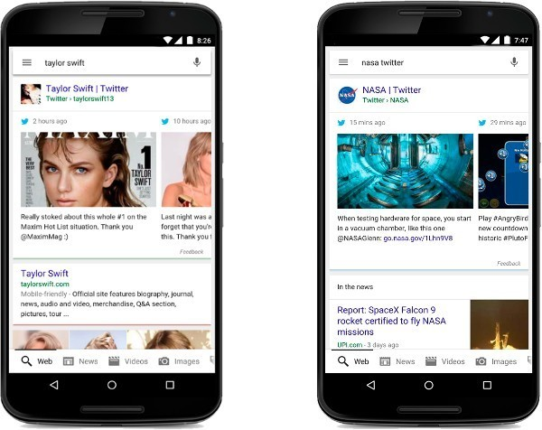 Google to integrate Twitter messages alongside search results