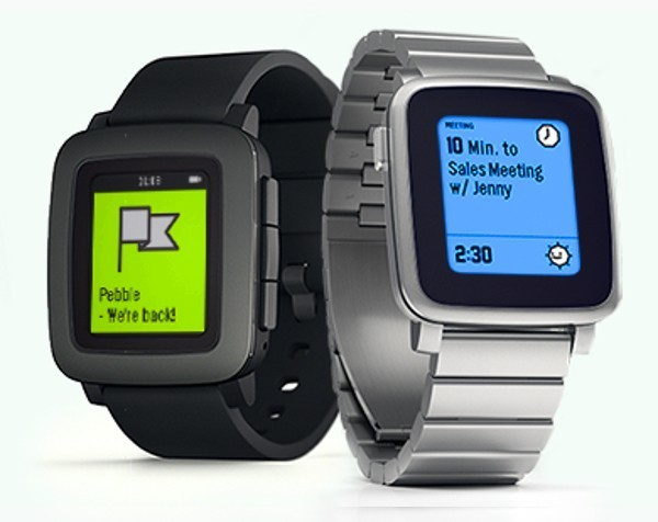 Why Pebble isn't worried about the Apple Watch