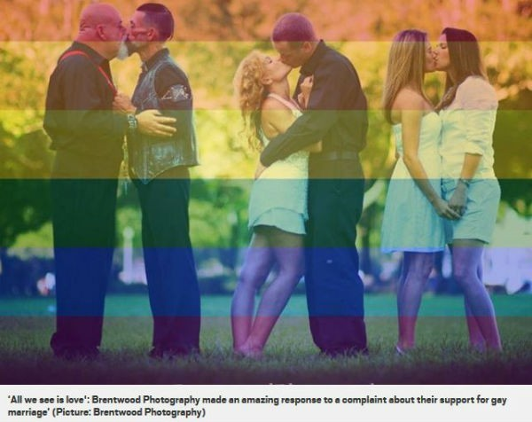 #Lovewins for US photographer whose small business went viral after stoush over his rainbow photo update