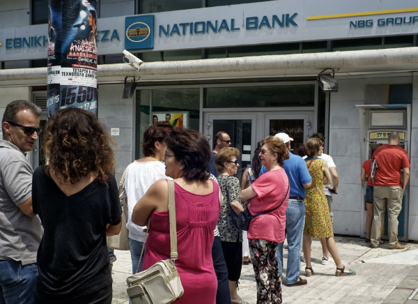 Greece shuts banks and stock market: economic crisis deepens