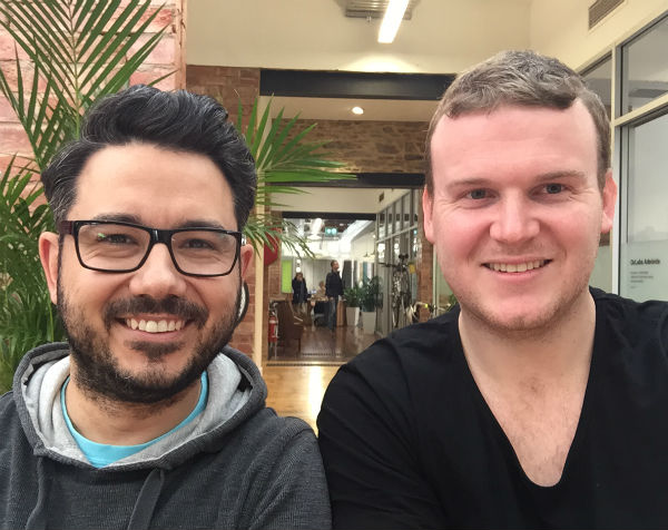 Adelaide-based entrepreneurs create an app to say thanks for small kindnesses