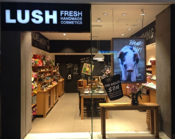Lush wins retailer of the year: $36 million in turnover all through word-of-mouth advertising