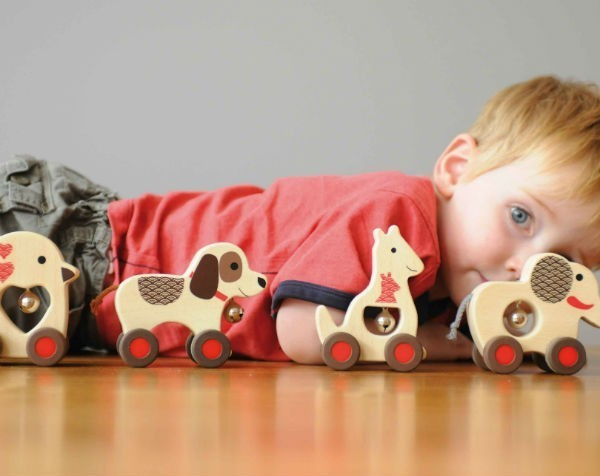 """Small business accuses Kmart of copying designer's wooden puppy toy: It's """"pretty soul destroying"""""""