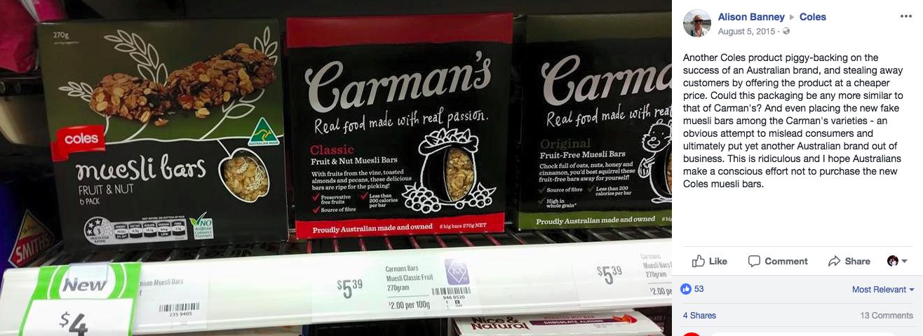 Carman's Coles