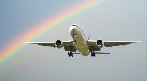 Rich lister uses Canberra airport to push for marriage equality