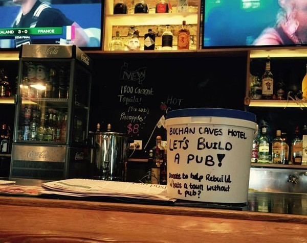 Buchan awesome: Record crowdfunding target reached to rebuild pub