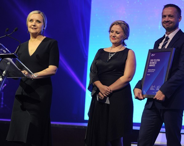 """""""You've got to take the risk"""": Meet the 2015 Telstra Business Awards winners"""