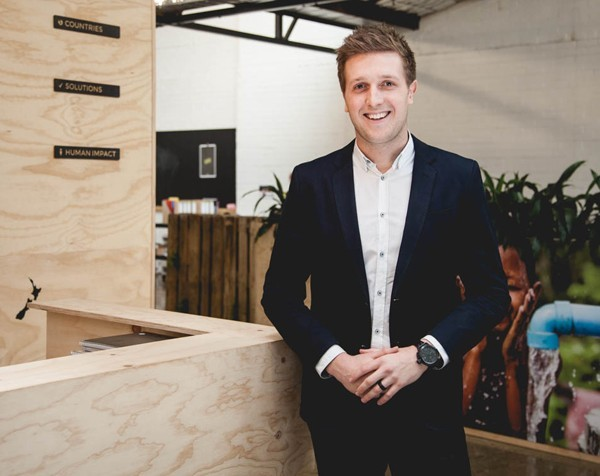 """""""Bigger than just me"""": Ethical water the tip of the iceberg for Thankyou Group's Daniel Flynn"""