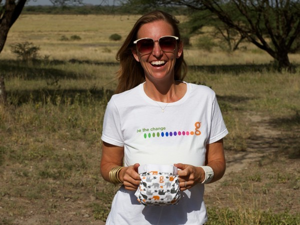 How gDiapers co-founder Kim Graham-Nye discovered sustainability in her work and personal life