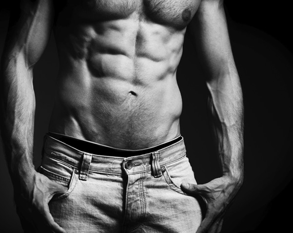 Tone of disbelief: Danoz Direct stung for claiming its belt provides chiselled abs without exercise