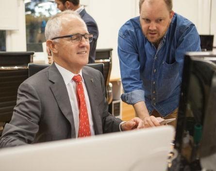 Turnbull talks innovation again ahead of policy launch