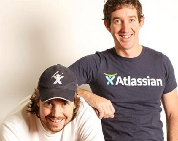 Atlassian co-founders Mike Cannon-Brookes and Scott Farquhar are the youngest Australians on Forbes Rich List while Gina Rinehart loses top spot