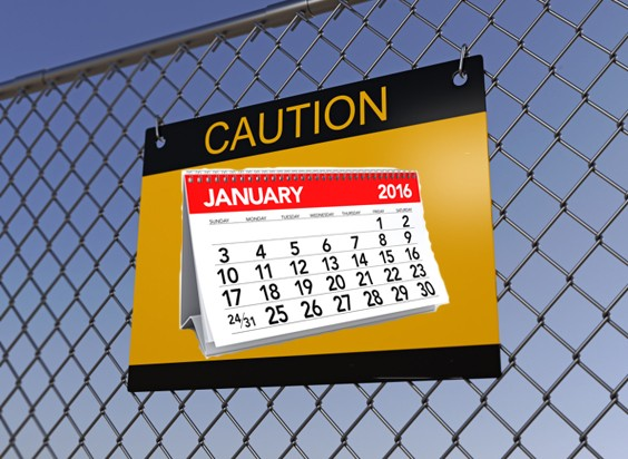 Is January a bad time for company collapses?