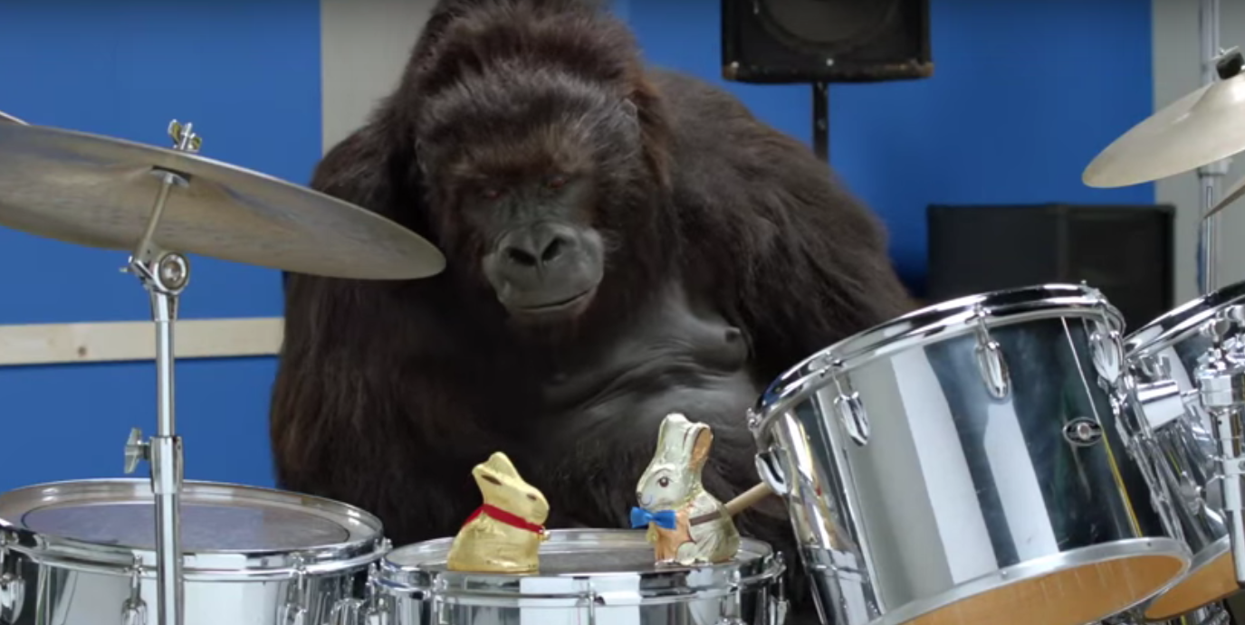 Aldi gorilla ad screenshot