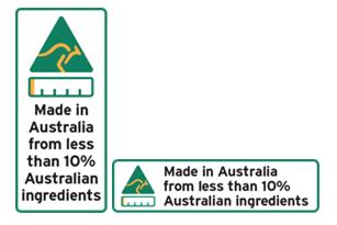 Less than 10% Australian