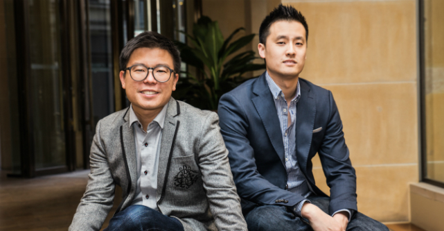 Airtasker-co-founders Tim Fung and Jonathan Lui