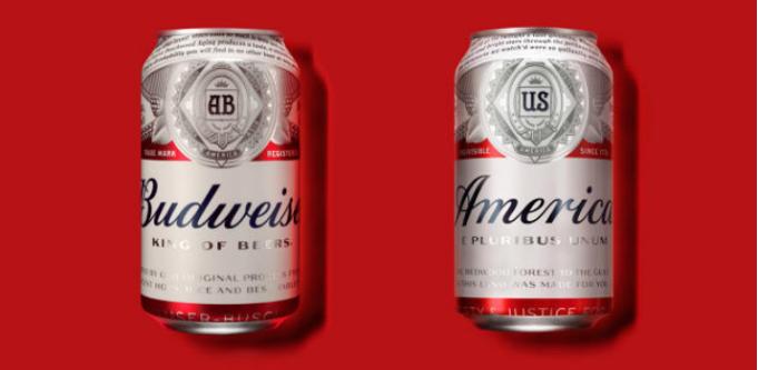 Budweiser Amercia renamed beer