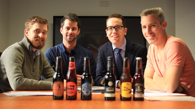 The founders of Friday Beers
