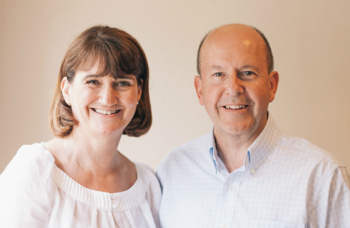 Martin and Sarah Warner founders of Home Instead Senior Care