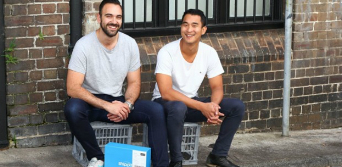 Shippit co-founders William On and Rob Hango-Zada
