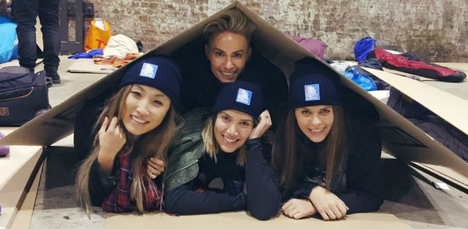 Vinnies CEO Sleepout 2016