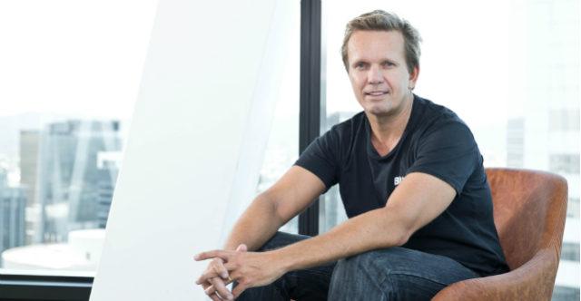 Blue Sky founder Mark Sowerby