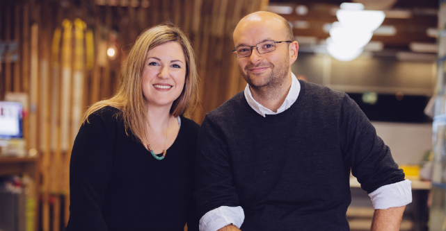 Cyan and Collis Ta'eed, founders of one of Australia's best business ideas, Envato