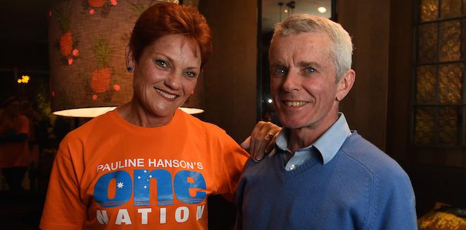 Pauline Hanson and Malcolm Roberts
