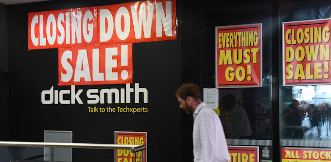 Dick Smith closing down sale