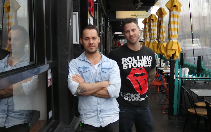 Sauced Pasta Bar founders