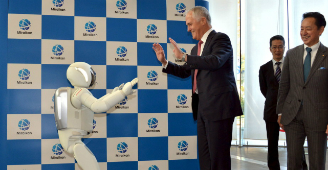 robot malcolm turnbull