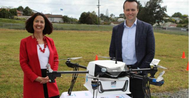 Drone delivery Flirtey