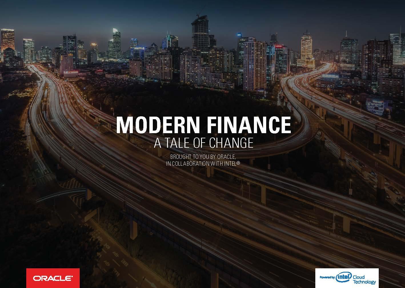 Modern Finance A Tale of Change
