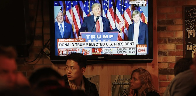US election in China